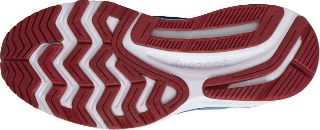 Women's Saucony Guide 14 Running Sneaker, Blue Blaze/Berry, large, image 5