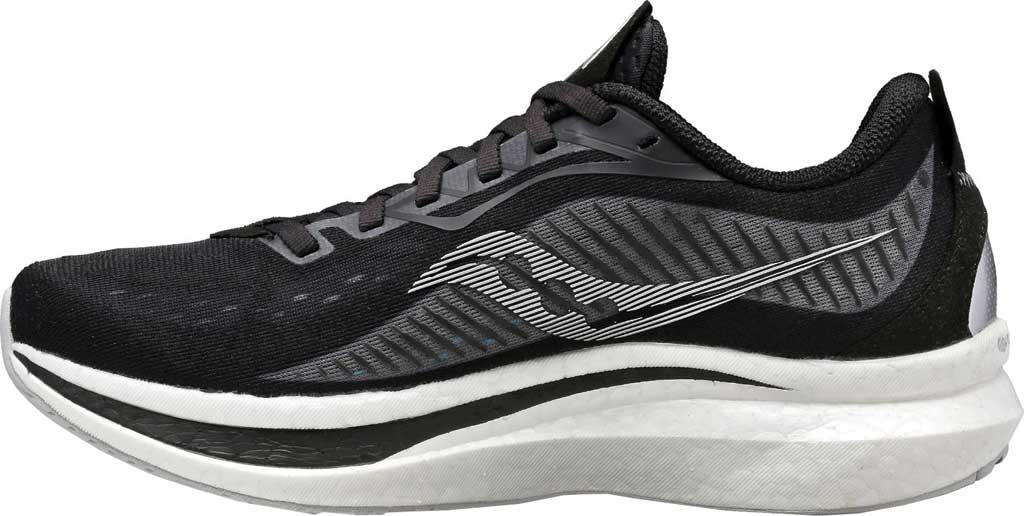 Men's Saucony Endorphin Speed 2 Running Sneaker, Black/Shadow, large, image 3