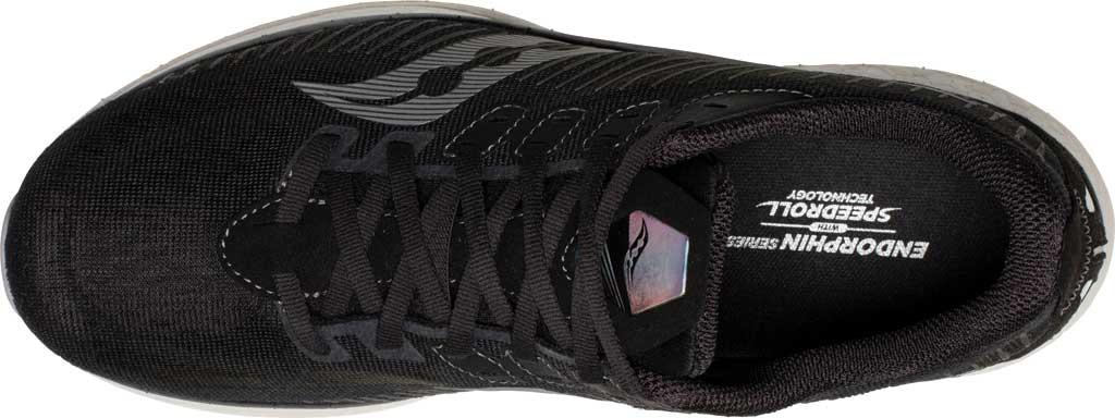 Men's Saucony Endorphin Speed 2 Running Sneaker, Black/Shadow, large, image 4