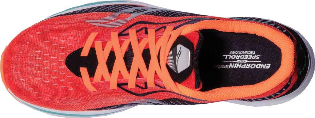 Men's Saucony Endorphin Speed 2 Running Sneaker, Scarlet/Black, large, image 4
