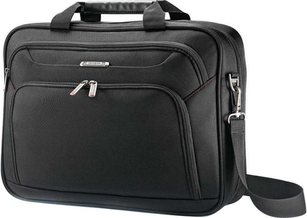Samsonite Xenon 3.0 Techlocker Briefcase, Black, large, image 1