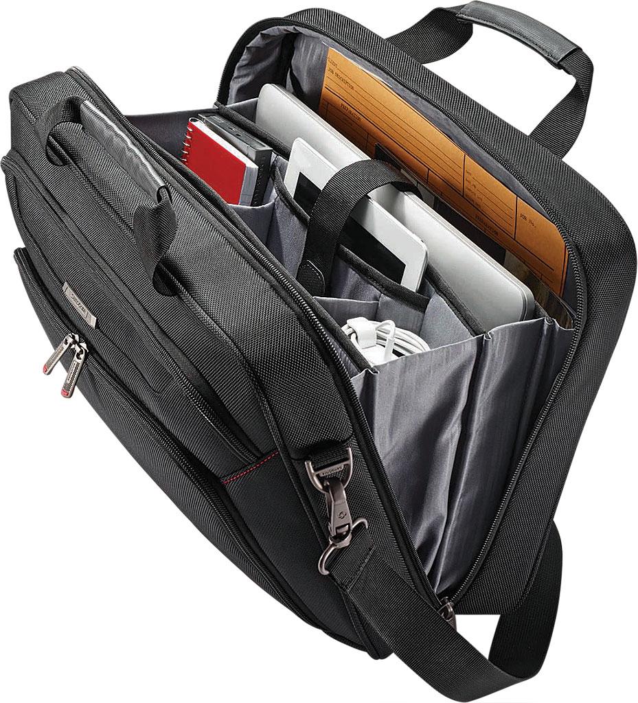 Samsonite Xenon 3.0 Techlocker Briefcase, Black, large, image 4
