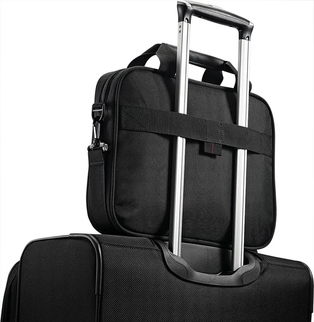 "Samsonite Xenon 3.0 13"" Laptop Shuttle Bag, Black, large, image 6"