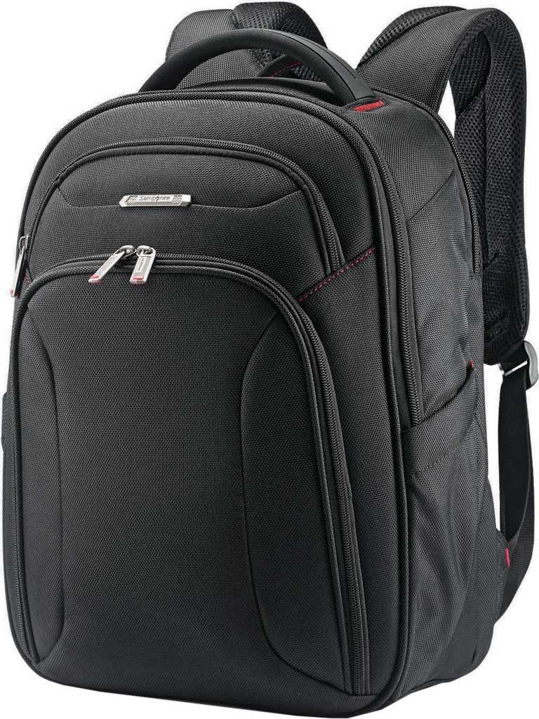 Samsonite Xenon 3.0 Slim Backpack, Black, large, image 1
