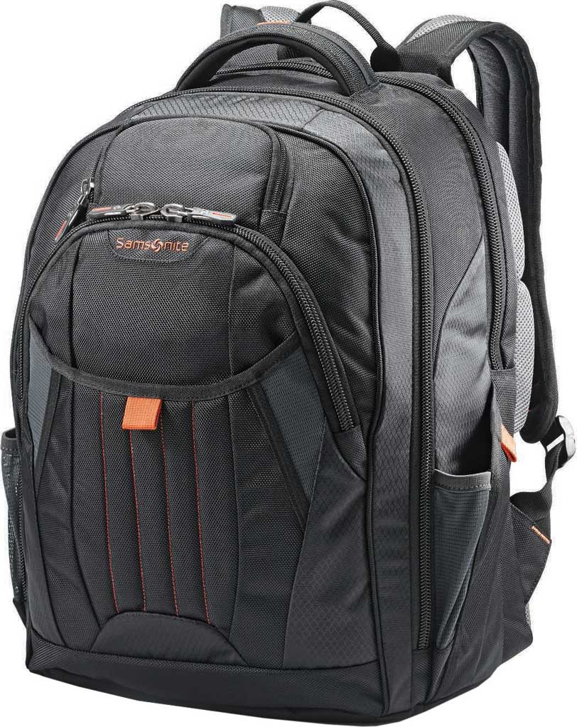 Samsonite Tectonic 2 Large Backpack, Black/Orange, large, image 1