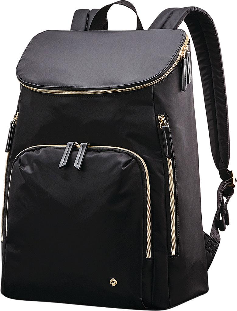 Women's Samsonite Mobile Solutions Deluxe Backpack, Black, large, image 1