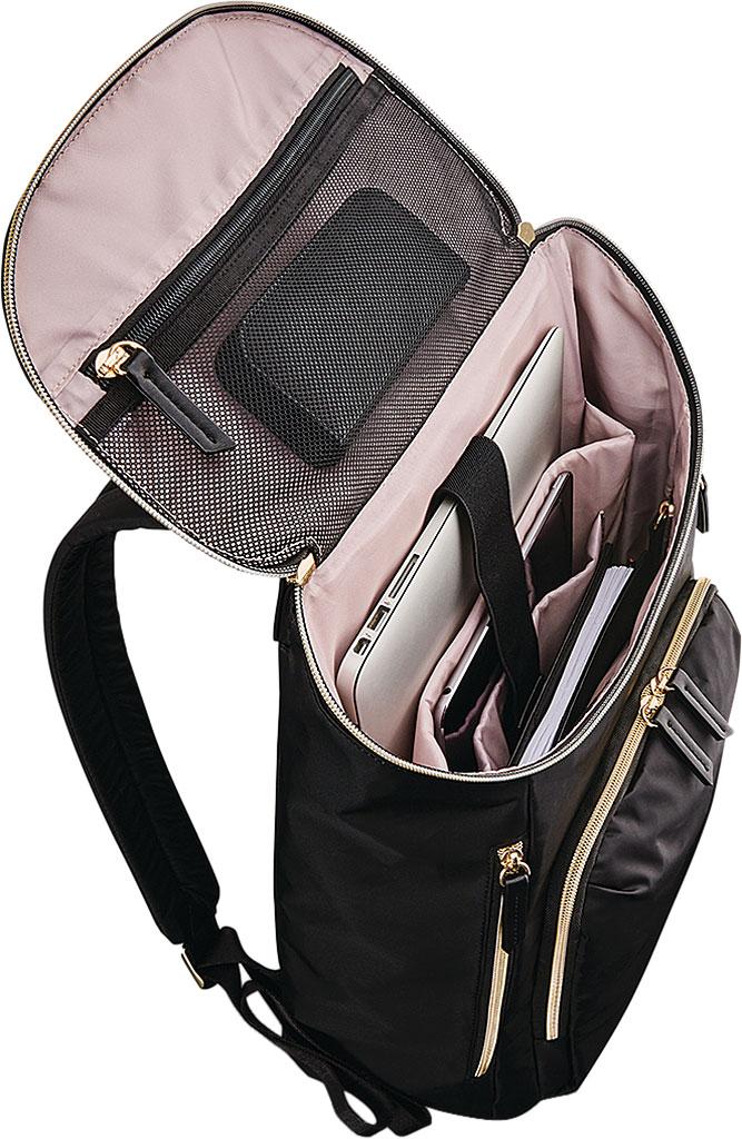 Women's Samsonite Mobile Solutions Deluxe Backpack, Black, large, image 4