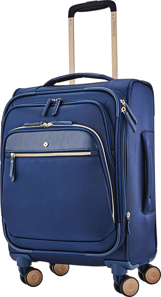 """Women's Samsonite Mobile Solutions 19"""" Expandable Spinner Luggage, Navy Blue, large, image 1"""