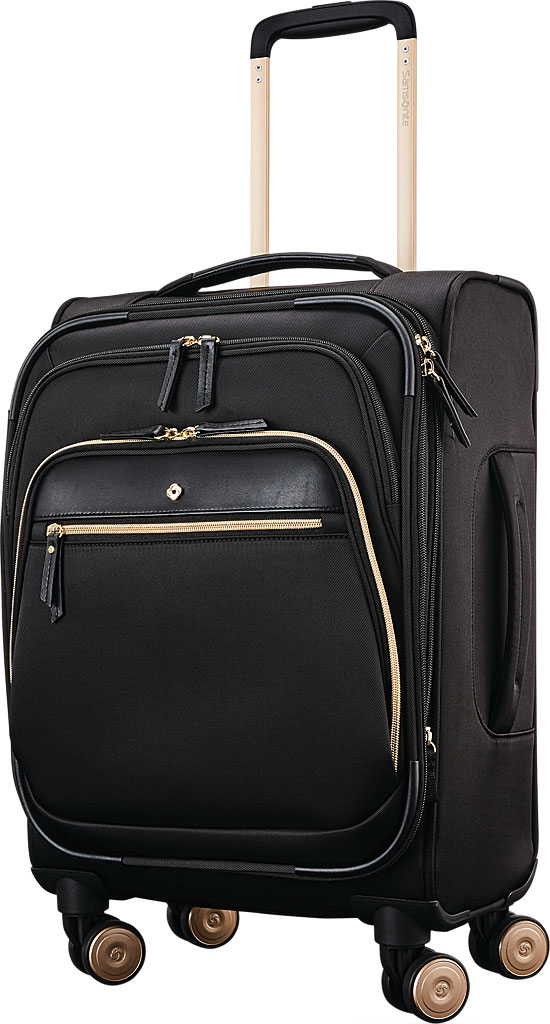 """Women's Samsonite Mobile Solutions 19"""" Expandable Spinner Luggage, Black, large, image 1"""