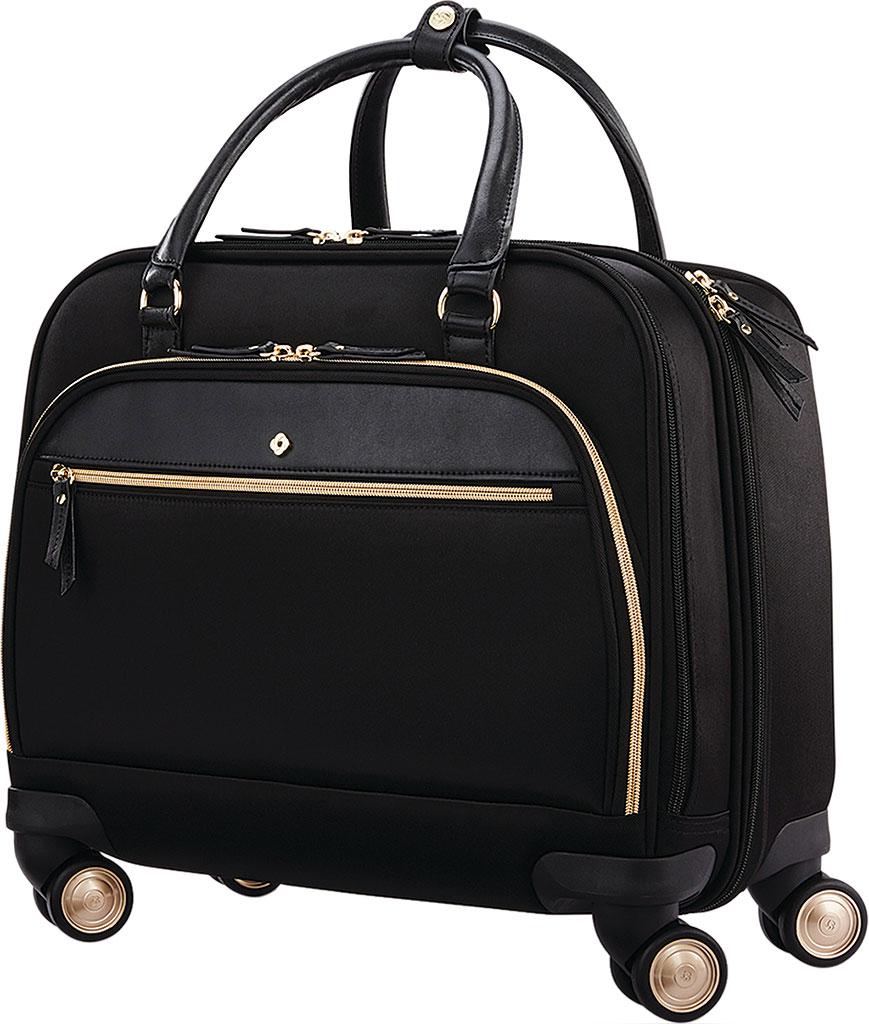 Women's Samsonite Mobile Solutions Spinner Briefcase, Black, large, image 1