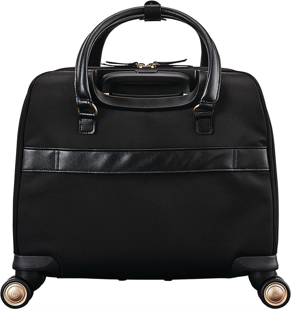 Women's Samsonite Mobile Solutions Spinner Briefcase, Black, large, image 2