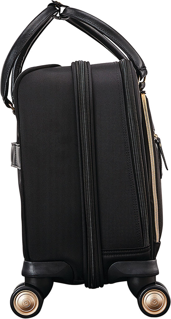Women's Samsonite Mobile Solutions Spinner Briefcase, Black, large, image 3