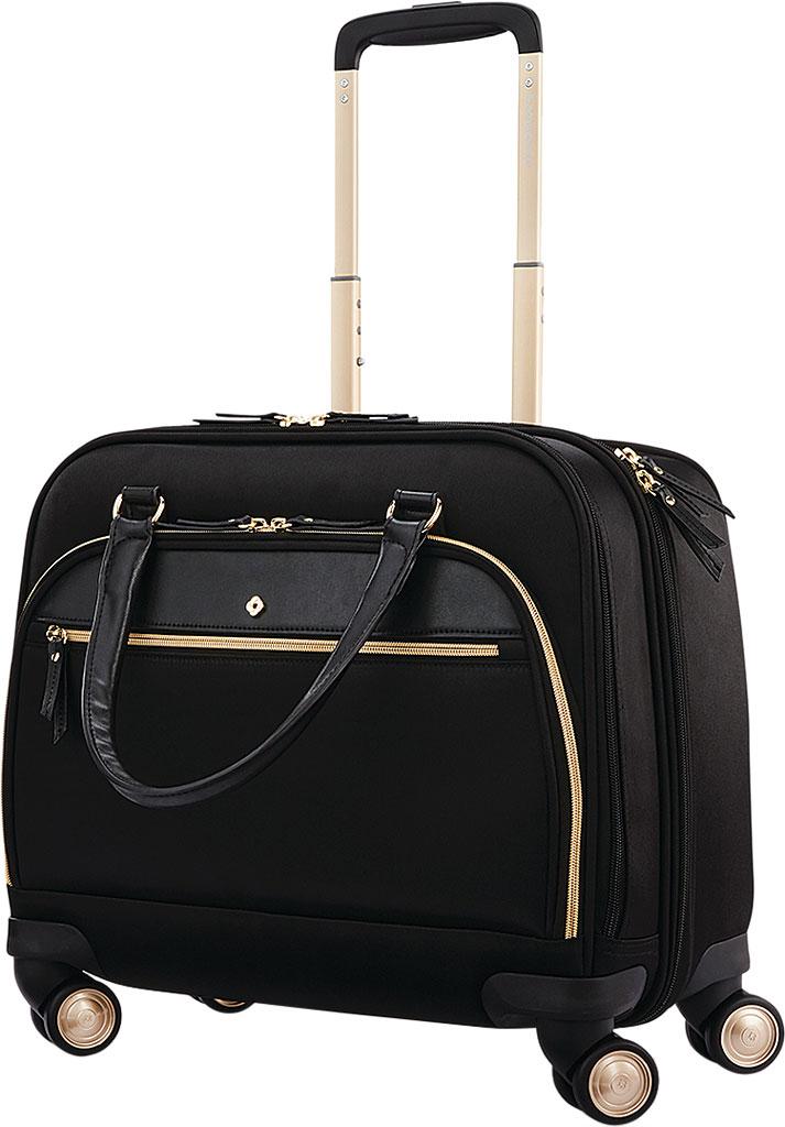 Women's Samsonite Mobile Solutions Spinner Briefcase, Black, large, image 5