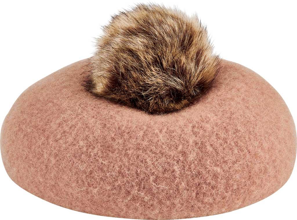 Children's San Diego Hat Company Wool Beret WFK1007, Camel, large, image 1