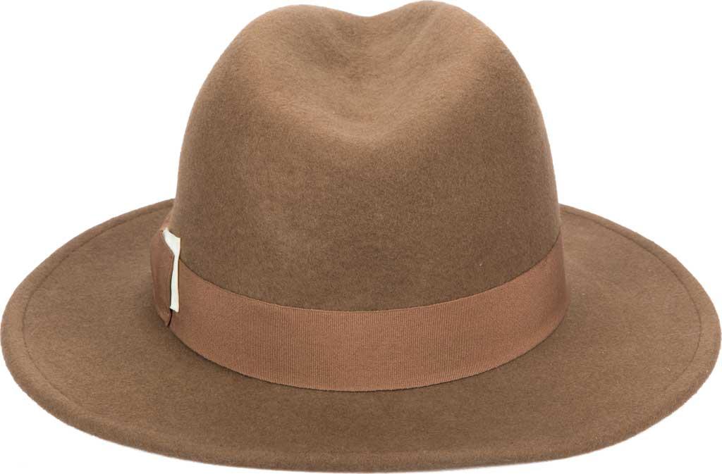 Men's San Diego Hat Company SDH9582 Fedora, Camel, large, image 2