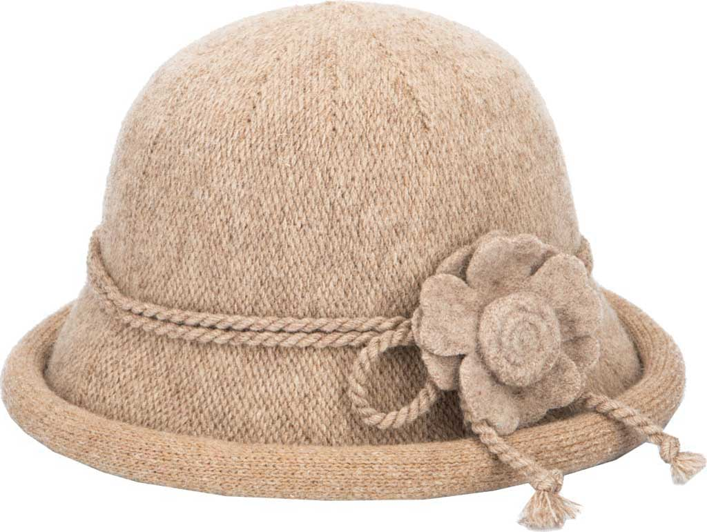 Women's San Diego Hat Company KNH2028 Knit Hat, Oatmeal, large, image 1