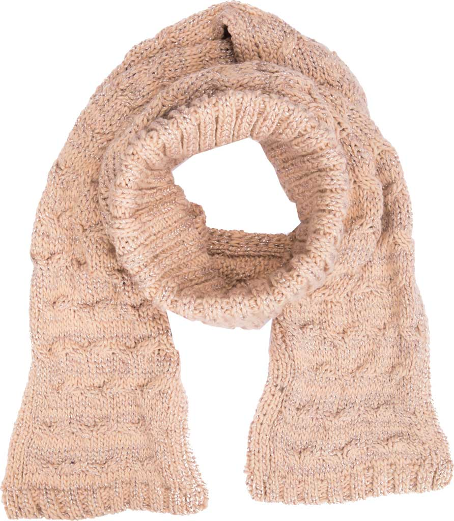 Women's San Diego Hat Company KNG2043 Glove and Scarf Set, Blush, large, image 1
