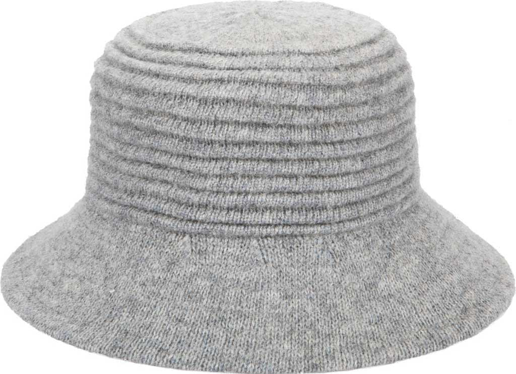 Women's San Diego Hat Company KNH2032 Bucket Hat, Grey, large, image 1