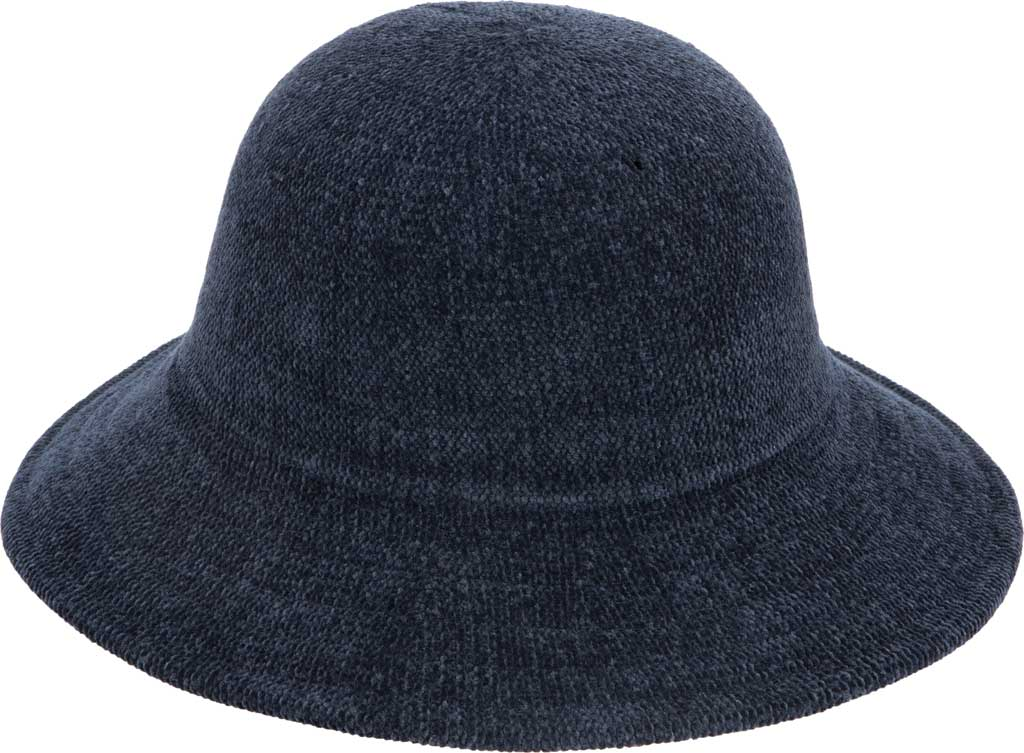 Women's San Diego Hat Company KNH2022 Bucket Hat, Navy, large, image 1