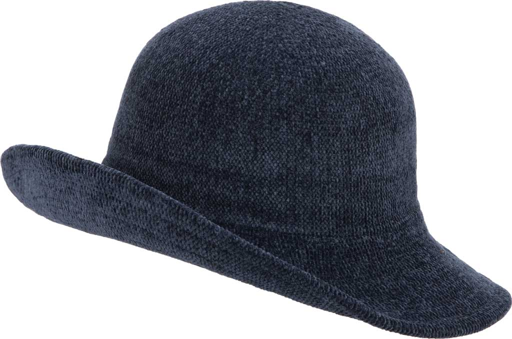 Women's San Diego Hat Company KNH2022 Bucket Hat, Navy, large, image 2
