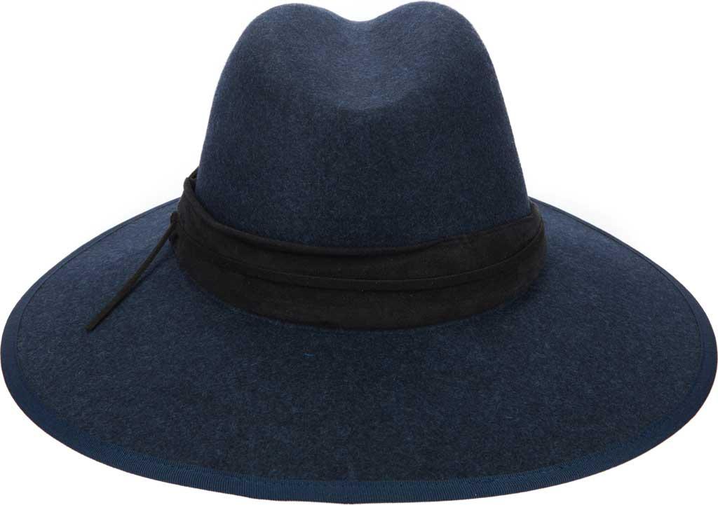Women's San Diego Hat Company WFH8108 Fedora, Navy, large, image 1