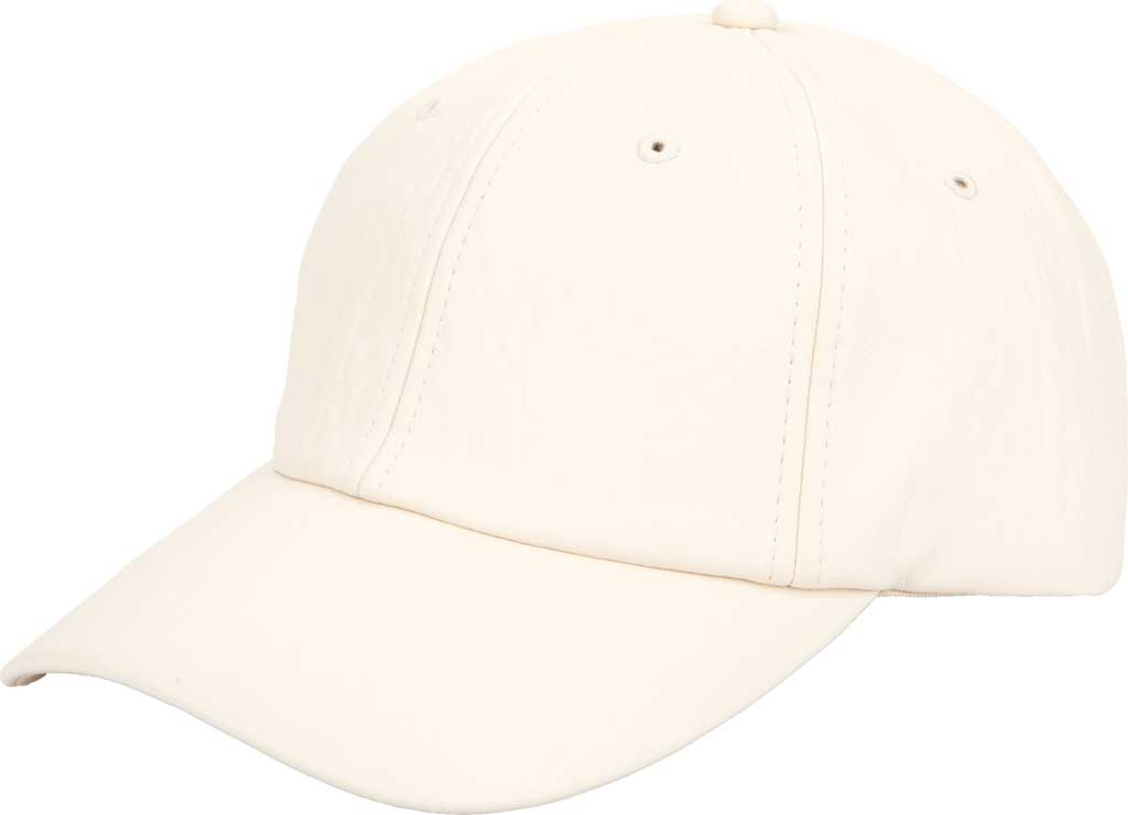 Women's San Diego Hat Company CTH1803 Baseball Cap, Ivory, large, image 1