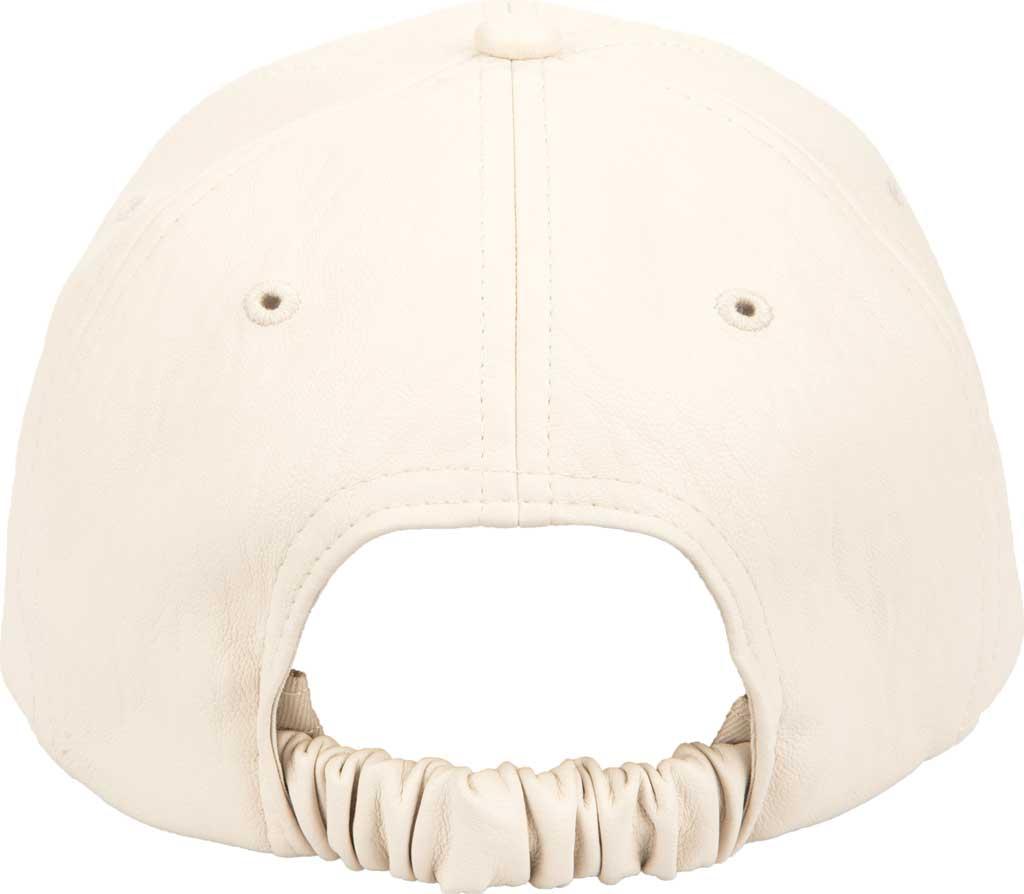 Women's San Diego Hat Company CTH1803 Baseball Cap, Ivory, large, image 2