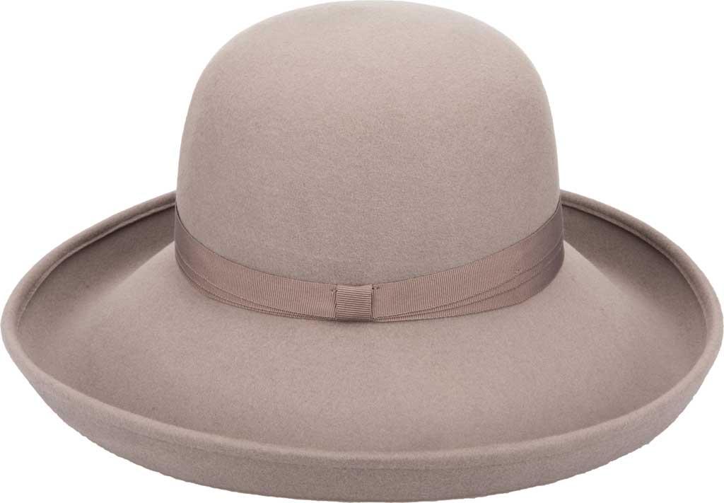 Women's San Diego Hat Company WFH8106 Wide Brim Hat, Mauve, large, image 2