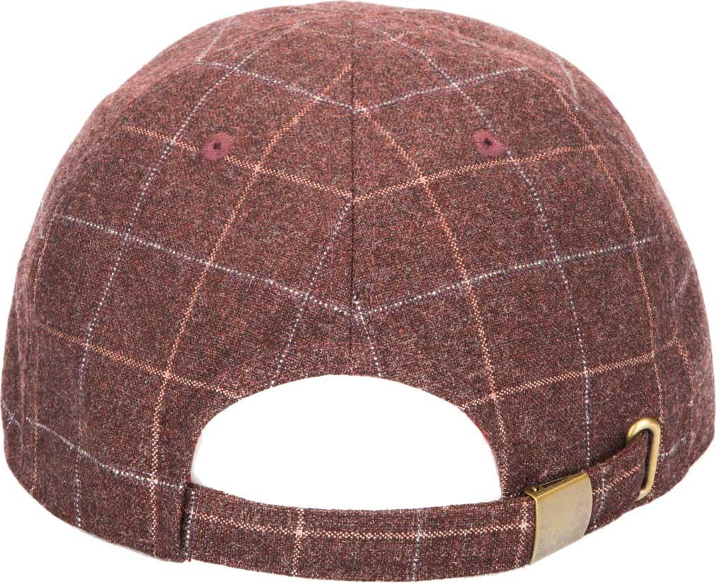 Men's San Diego Hat Company CTH9034 Newsboy Cap, Burgundy, large, image 2