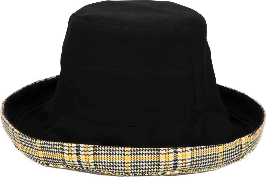 Women's San Diego Hat Company CTH1805 Reversible Hat, Black, large, image 1