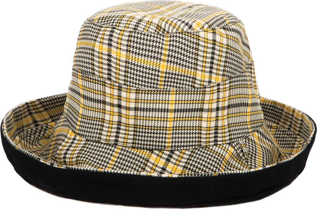 Women's San Diego Hat Company CTH1805 Reversible Hat, Black, large, image 2