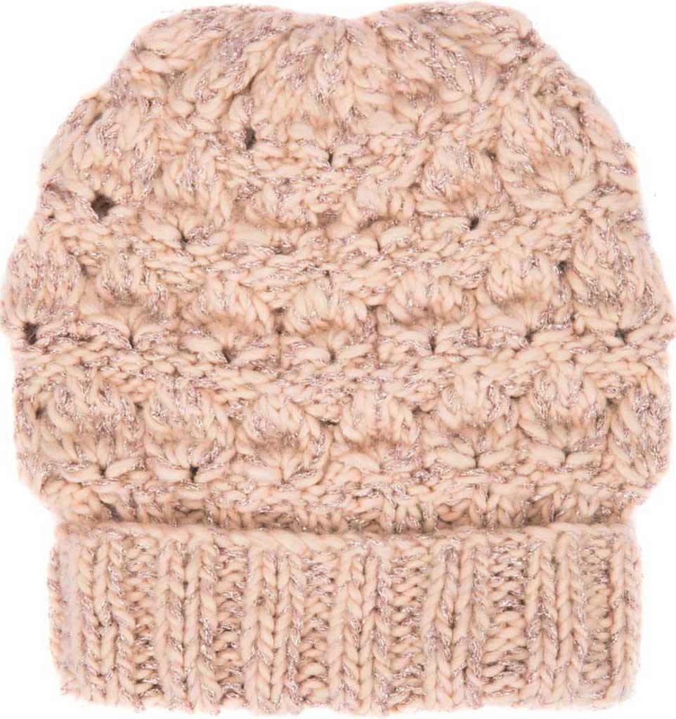 Women's San Diego Hat Company KNH2043 Beanie, Blush, large, image 1