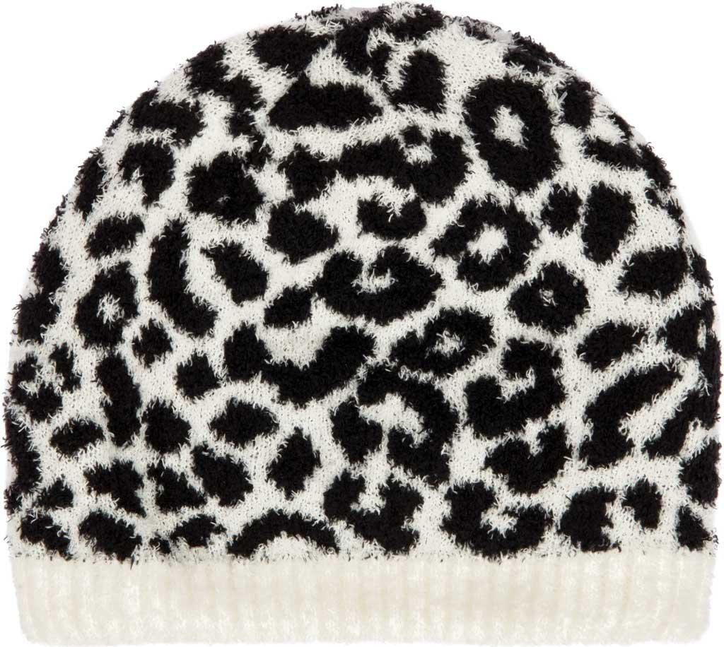 Women's San Diego Hat Company KNH2050 Beanie, Black/White, large, image 1