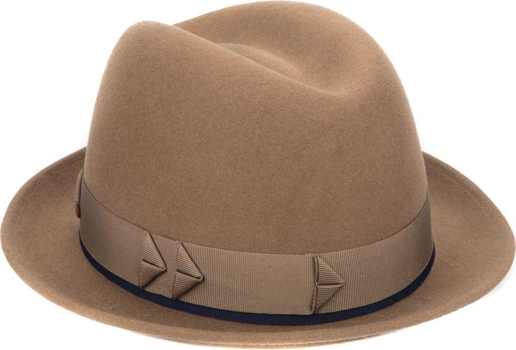 Men's San Diego Hat Company SDH9567 Fedora, Brown, large, image 1