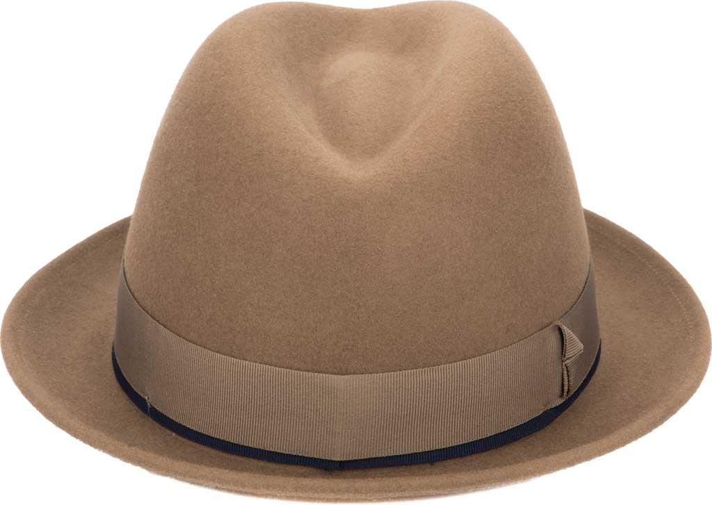 Men's San Diego Hat Company SDH9567 Fedora, Brown, large, image 2
