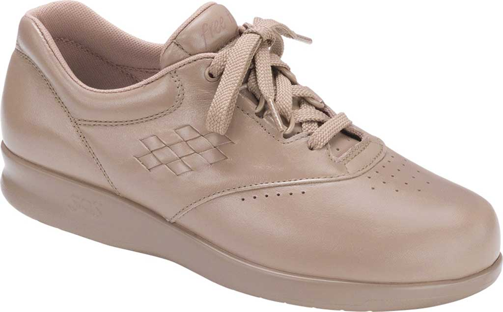 Women's SAS Free Time Sneaker, Mocha Leather, large, image 1