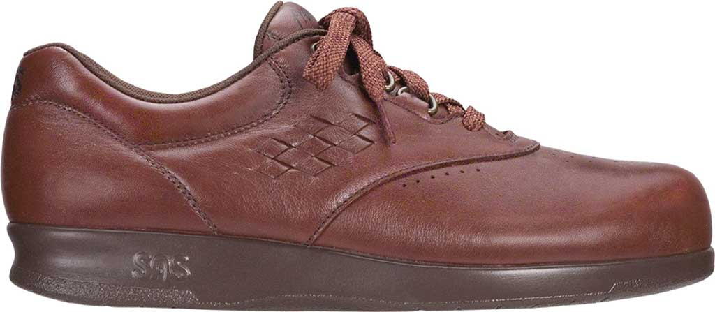 Women's SAS Free Time Sneaker, Teak Leather, large, image 2