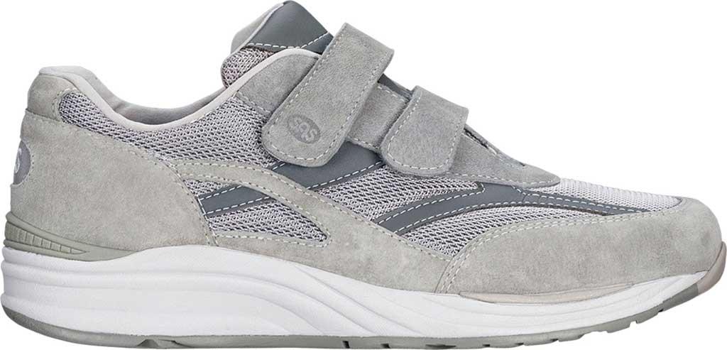 Men's SAS JV Hook and Loop Sneaker, Gray, large, image 2