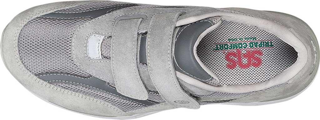Men's SAS JV Hook and Loop Sneaker, Gray, large, image 3