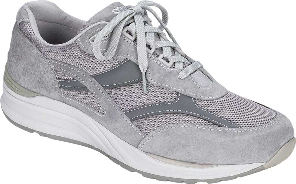 Men's SAS Journey Mesh Sneaker, Gray, large, image 1