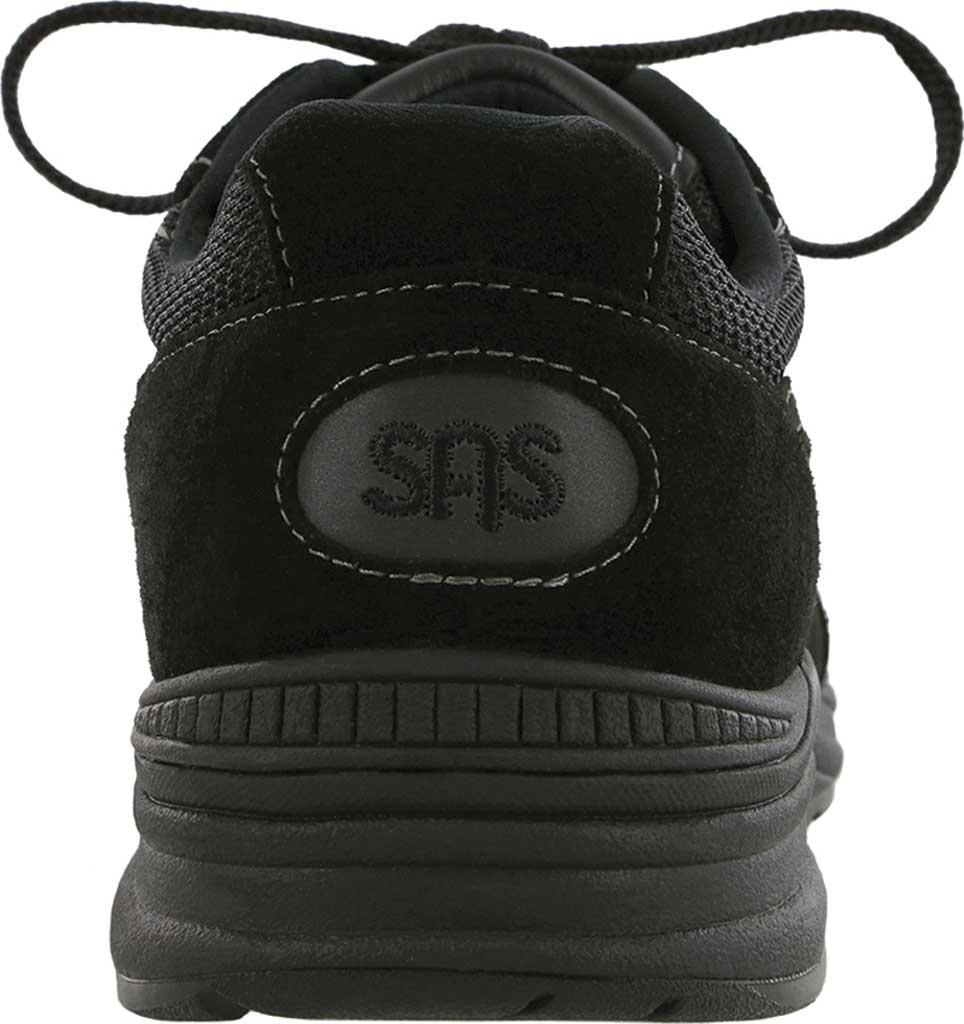 Men's SAS Journey Mesh Sneaker, Black Suede/Mesh, large, image 3