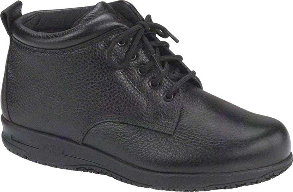 Women's SAS Alpine Non Slip Ankle Boot, Black Leather, large, image 1