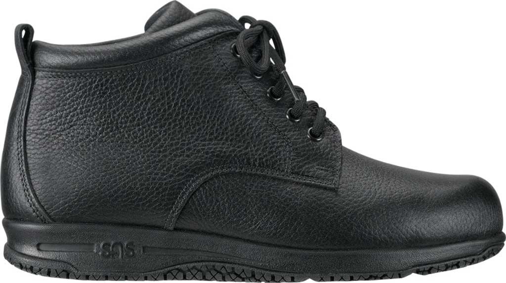 Women's SAS Alpine Non Slip Ankle Boot, Black Leather, large, image 2