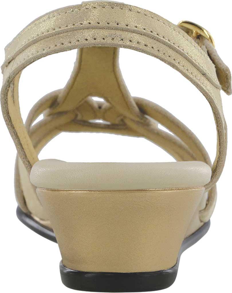 Women's SAS Aurora Wedge T Strap Sandal, , large, image 3