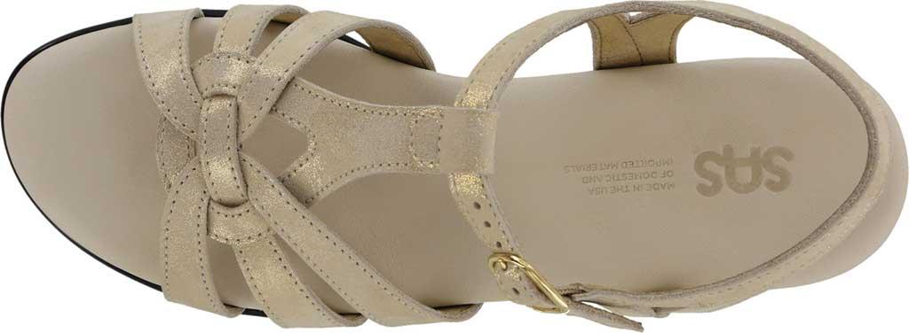 Women's SAS Aurora Wedge T Strap Sandal, , large, image 4