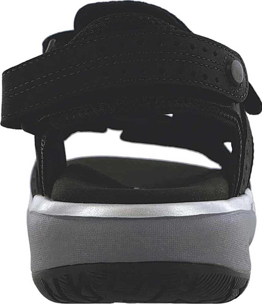 Women's SAS Embark Active Sandal, Nero Leather, large, image 3