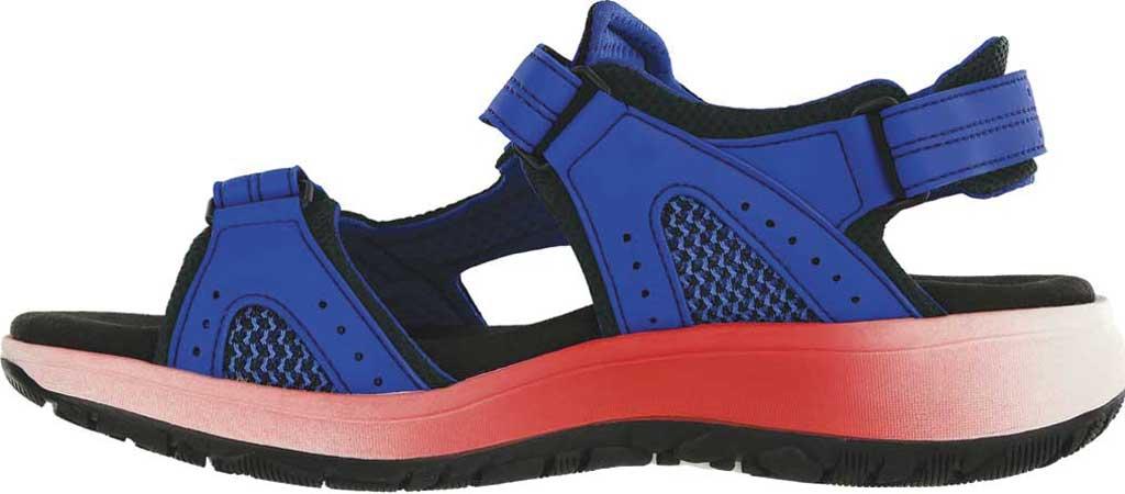 Women's SAS Embark Active Sandal, Cobalt Leather, large, image 2