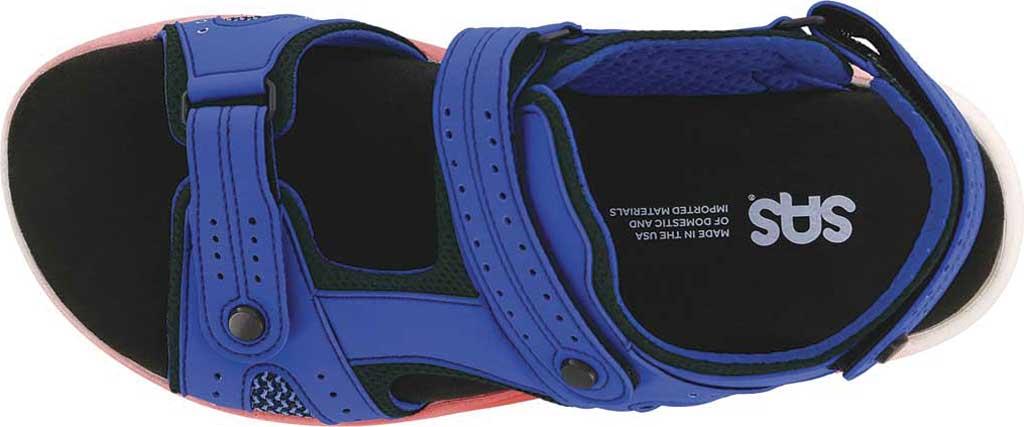 Women's SAS Embark Active Sandal, Cobalt Leather, large, image 4