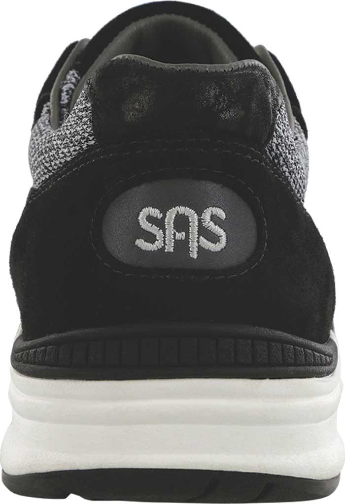 Men's SAS Journey Mesh Lux Sneaker, Char Leather/Mesh, large, image 3