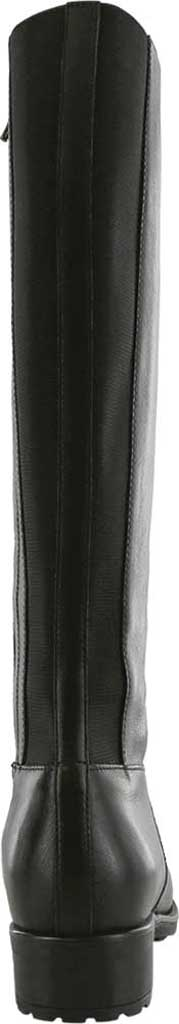 Women's SAS Duchess Knee High Boot, Black Smooth Italian Leather, large, image 3